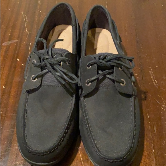 Black Sperry Shoes